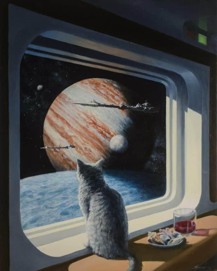 11 framtidens rymdkatt