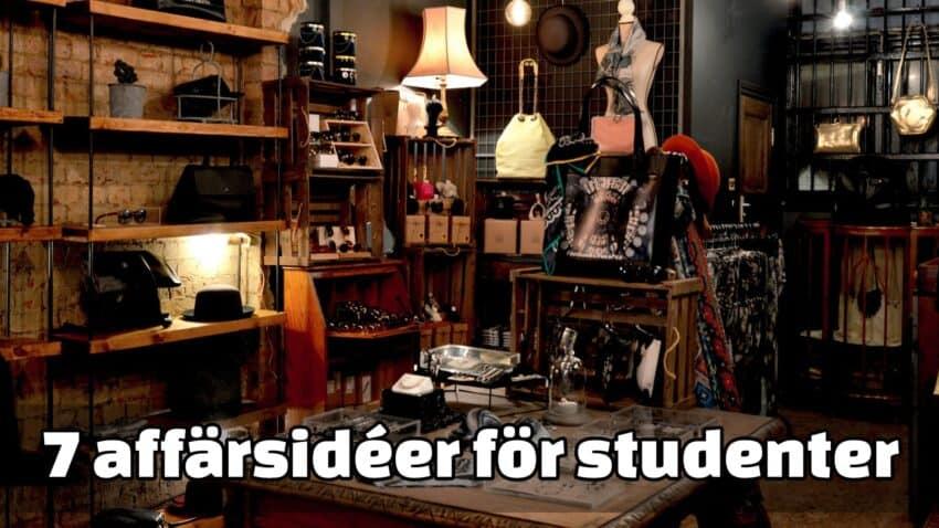 Affärsidéer för studenter