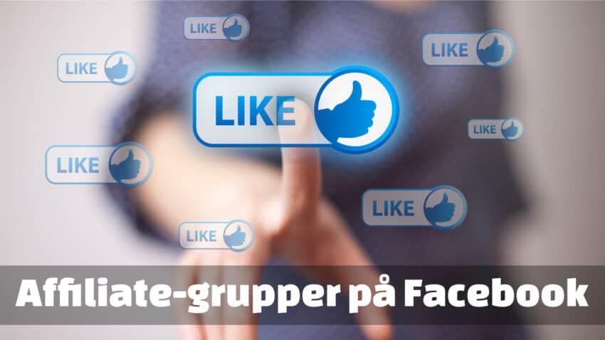 affiliate facebook grupper