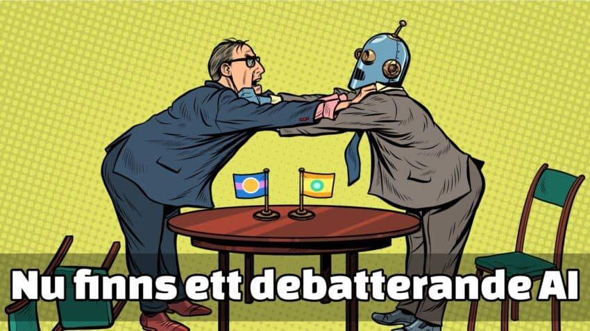 AI som diskuterar