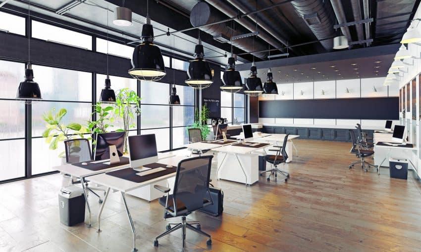 arbetsplatsens rum