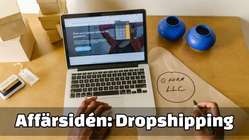 Dropshipping som affärsidé