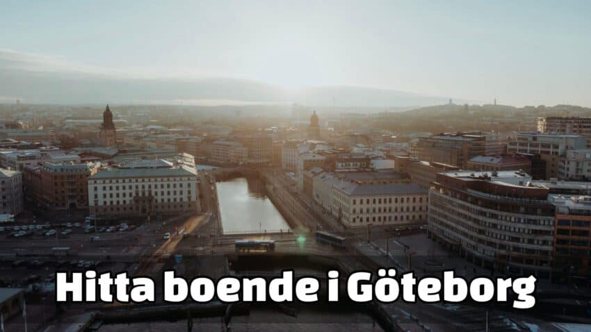 Hitta lägenhet i Göteborg