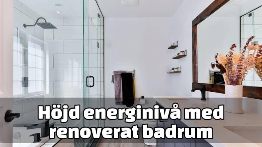 Samarbete badrumsrenovering Stockholm