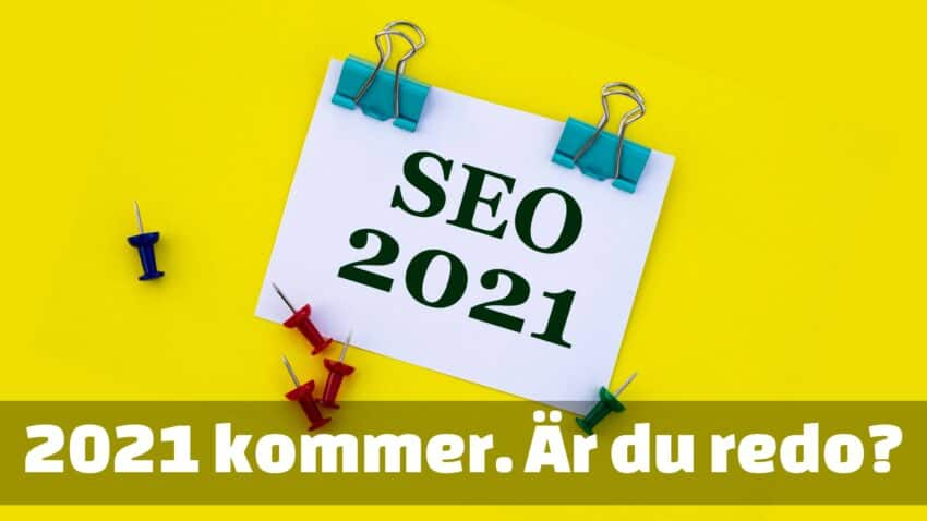 SEO-trender 2021