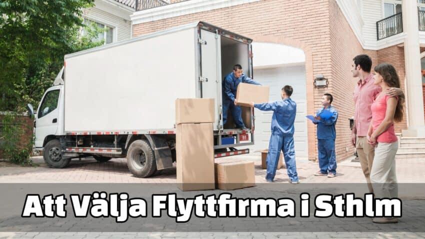 Välja flyttfirma i Stockholm